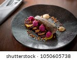 simple and elegant fine dining... | Shutterstock . vector #1050605738