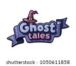 mystical logo template. ghosts  ...