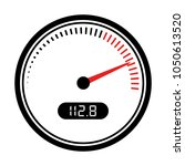 speedometer and tachometer icon ...   Shutterstock .eps vector #1050613520