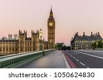 big ben in london in the morning | Shutterstock . vector #1050624830