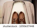 men's accessories. brown...   Shutterstock . vector #1050637448