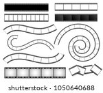 set of film strip  movie  photo.... | Shutterstock .eps vector #1050640688