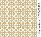 vector golden ornamental... | Shutterstock .eps vector #1050653420