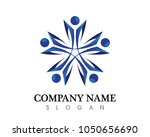 community people care logo and... | Shutterstock .eps vector #1050656690
