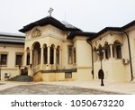romanian patriarchal cathedral... | Shutterstock . vector #1050673220
