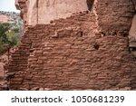 native american indian ruins...   Shutterstock . vector #1050681239