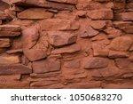 native american indian ruins... | Shutterstock . vector #1050683270