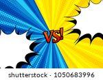 comic versus horizontal... | Shutterstock .eps vector #1050683996