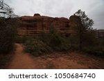 desert scene landscape agave... | Shutterstock . vector #1050684740