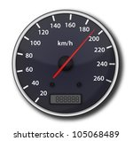 tachometer | Shutterstock . vector #105068489