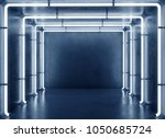 lamp square background | Shutterstock . vector #1050685724