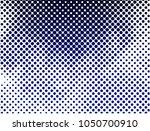 grunge dot halftone texture  ... | Shutterstock .eps vector #1050700910