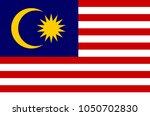 malaysian national flag ...   Shutterstock .eps vector #1050702830