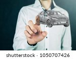 concept of car transport | Shutterstock . vector #1050707426