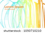 abstract technology and... | Shutterstock .eps vector #1050710210