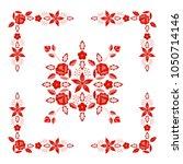 polish folk pattern vector....   Shutterstock .eps vector #1050714146