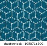 seamless modern vector... | Shutterstock .eps vector #1050716300