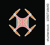 drone icon. cartoon drone...   Shutterstock .eps vector #1050718640