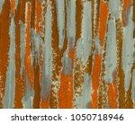 oil painting on canvas handmade.... | Shutterstock . vector #1050718946