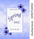 spring  background template... | Shutterstock .eps vector #1050724454