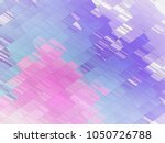 abstract glitch pattern... | Shutterstock . vector #1050726788