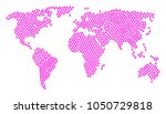 geographic map mosaic organized ... | Shutterstock . vector #1050729818