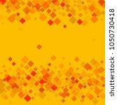 rhombus yellow minimal... | Shutterstock .eps vector #1050730418