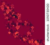 rhombus confetti minimal... | Shutterstock .eps vector #1050730430