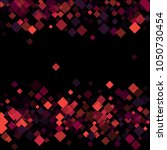 rhombus print minimal geometric ... | Shutterstock .eps vector #1050730454