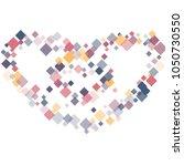 rhombus style minimal geometric ... | Shutterstock .eps vector #1050730550
