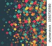 rhombus card minimal geometric... | Shutterstock .eps vector #1050730580
