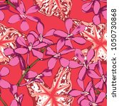 seamless pattern pastel... | Shutterstock .eps vector #1050730868
