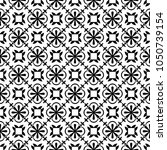 vector seamless tile pattern.... | Shutterstock .eps vector #1050739154