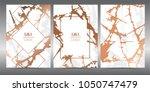 luxury premium menu design... | Shutterstock .eps vector #1050747479