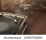 vintage retro revival objects... | Shutterstock . vector #1050752834