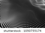 abstract polygonal space low...   Shutterstock . vector #1050755174