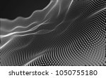 abstract polygonal space low...   Shutterstock . vector #1050755180