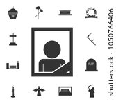 memory death portrait icon.... | Shutterstock .eps vector #1050766406