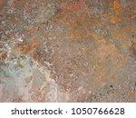 beatiful pattern old metal iron ...   Shutterstock . vector #1050766628