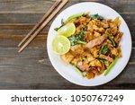 thai food  stir fried rice... | Shutterstock . vector #1050767249