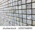 stone brick wall textured...   Shutterstock . vector #1050768890