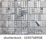 stone brick wall textured...   Shutterstock . vector #1050768908