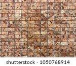stone brick wall textured...   Shutterstock . vector #1050768914