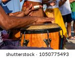 Percussionist Playing Atabaque...