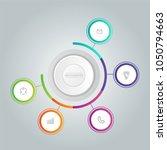 modern infographics design... | Shutterstock .eps vector #1050794663