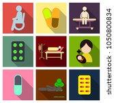 medicine  pharmacy  hospital... | Shutterstock .eps vector #1050800834