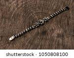 female beautiful bracelet on...   Shutterstock . vector #1050808100