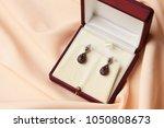 Pair Of Ruby Diamond Earrings...