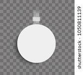 realistic wobbler on...   Shutterstock .eps vector #1050811139