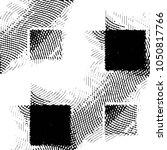 abstract grunge grid stripe... | Shutterstock . vector #1050817766